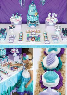 Little mermaid birthday party theme - you are 1 click away from creating your perfect party!