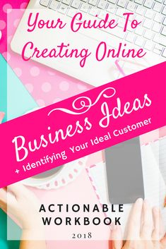 Your Actionable Guide To Creating Online Business Ideas + Identifying Your Ideal Customers! Starting A Business, Business Planning, Business Tips, Online Business, Business Coaching, Business Networking, Online Entrepreneur, Business Entrepreneur, Make Money Blogging