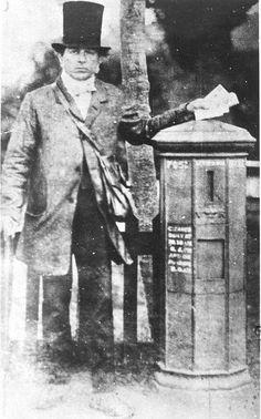 Postman late 1850s.