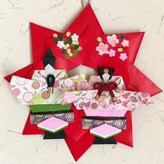 panda🐼さん(@panda__y8) • Instagram写真と動画 Hina Matsuri, Diy And Crafts, Paper Crafts, Origami, Gift Wrapping, Gifts, Handmade, Creative Crafts, Gift Wrapping Paper