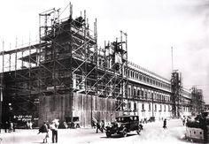 Ampliación y Remodelación del Palacio Nacional de Mexico, imagen de Manuel Ramos.  26 de Ago de 1926