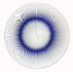 Alberto Biasi [Italy] (b ~ 'Dinamica Circolare', PVC relief and acrylic on panel (ø 62 cm). Sculpture Art, Sculptures, Popular Art, Hanging Pictures, Sacred Geometry, Oeuvre D'art, Alexander Calder, Contemporary Art, Abstract Art