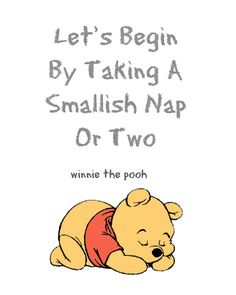 Winnie the Pooh Let's Start By Taking A by RachelsMagicalPrints