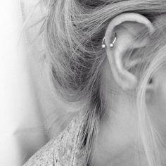 Trendy Surgical Steel C Shape Segment Tragus Fake Septum Nose Rings Stud Helix Piercing Body Jewelry Tragus Piercings, Piercing Eyebrow, Helix Piercing Jewelry, Cartilage Jewelry, Cute Ear Piercings, Piercing Tattoo, Cartilage Hoop, Helix Ring, Double Cartilage
