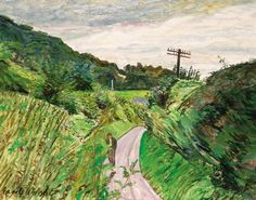A Windy day, Carel Weight. (1908 - 1997)