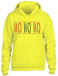 ho ho ho ugly christmas sweater HOODIE