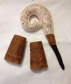 Cajado e bracelete Maui - MOANA