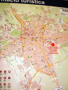 Penny In Wanderland: Μονοήμερη στην πόλη Figueras, τη γενέτειρα του Sal... Wanderland, Salvador Dali, Spain, About Me Blog, Map, Sevilla Spain, Location Map, Maps, Spanish