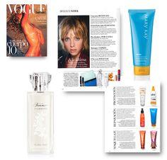 Revista Vogue Belleza abril 2016. Forever Diamonds Eau de Parfum y Gel Reparador After-Sun Mary Kay.  #MaryKay #MaryKayEspaña #MaryKayEspana #Belleza #Fragancia #Aroma #AfterSun #Medios #Revistas #Vogue #VogueSpain