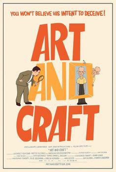 "Poster de ""Art and Craft""."