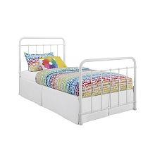 "DHP - Brooklyn Twin Bed, White- Toys""R""Us"