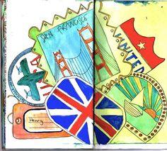 A full passport is a happy passport --> Travel #TravelWithSony