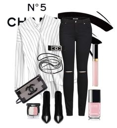 """""""Chanel"""" by kaywoodsx on Polyvore featuring Chanel, 2LUV and Yves Saint Laurent"""