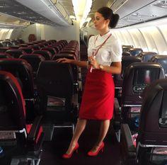 【イギリス】ヴァージン・アトランティック航空 客室乗務員 / Virgin Atlantic Airways cabin crew【UK】 Grace Perry, Photo And Video, Instagram, Fashion, Moda, Fashion Styles, Fashion Illustrations