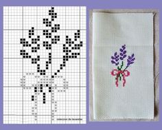 This Pin was discovered by Sem Tiny Cross Stitch, Cross Stitch Bookmarks, Cross Stitch Cards, Cross Stitch Flowers, Cross Stitch Kits, Cross Stitch Designs, Cross Stitching, Cross Stitch Patterns, Hand Embroidery Stitches