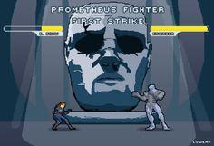 #prometheus Fighter #Street Fighter #Engineer #pixel art