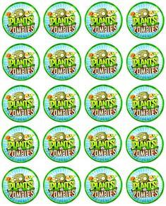 Todo para Fiestas de Plantas contra Zombies | Ideas para las fiestas Infantiles, Para Mujeres Hombres 15 años y Bodas Plants Vs Zombies, Zombies Vs, Little Man Birthday, Leo Birthday, Zombie Birthday Parties, Zombie Party, Plantas Versus Zombies, Zombie Food, Plant Zombie