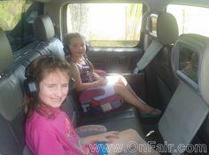 Autotain Car Headrest DVD Customer Testimonial - 2006 Honda Ridgeline  #headrestdvdplayer #family http://www.onfair.com/2006-honda-ridgeline-car-headrest-dvd-player-testimonial/