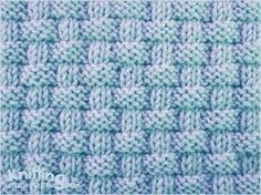 Alternating knit and purl stitches created this richly textured pattern