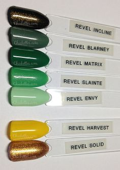 Chickettes.com - Revel Greens & Yellows