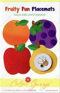 http://www.sewthankful.com/Fruity-Fun-Placemats-sewing-pattern-Cotton-Ginnys.html
