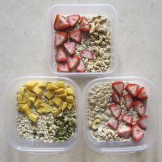 Breakfast Meal Prep: Overnight Oats Master Recipe