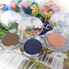 """our """"exit to explore"""" eyeshadows with special holographic effects are a must for every adventure-girl out there!  #exittoexplore #trendedition"""