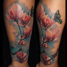 flower-tattoos-25   tatuajes | Spanish tatuajes  |tatuajes para mujeres | tatuajes para hombres  | diseños de tatuajes http://amzn.to/28PQlav