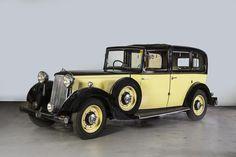1936 Armstrong Siddeley 20/25hp Sedanca de Ville Chassis no. AS9611 Engine no. 9796
