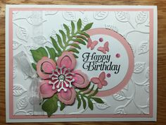 Stampin Up Botanical Blooms & dies CASEd this from a Pinterest post but unsure who to give credit to. But I am grateful to whoever it was that inspired me to do this one :) You can order the Stamp set and dies here: http://www.stampinup.com/ECWeb/searchresults.aspx?dbwsdemoid=2158591