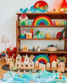 Isosceles Triangle, Montessori Playroom, Tiles For Sale, Toy Storage, Storage Ideas, Shelfie, Creative Play, Our Kids, Educational Toys