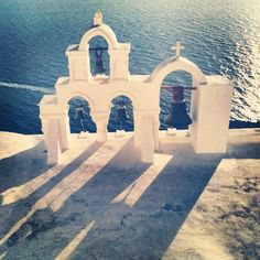 The famous #bells #santorini #greece