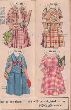 Elsie Dinsmore 3 by Pennelainer, via Flickr,,,had more outfits than I thought!