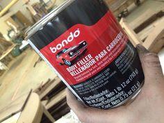 Using Bondo to Repair Wood Damage Before Painting
