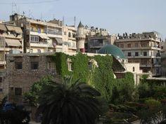 Aleppo Downtown Jamiliye Street Syria.