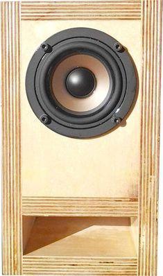 DIY Bookshelf Speakers : 4 Steps - Instructables Diy Bookshelf Speakers, Diy Speakers, Built In Speakers, Wireless Speakers, Bookshelf Diy, Music Speakers, Small Subwoofer, Subwoofer Box, Speaker Plans