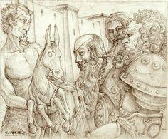 Intro of Sliepnir by Eric Sabee, via Behance