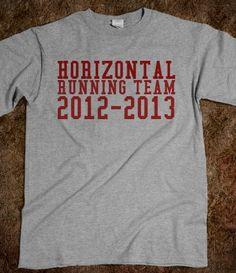 Horizontal Running Team :)