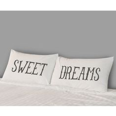 Sweet Dreams Pillow Covers now featured on Fab. $22-!!!