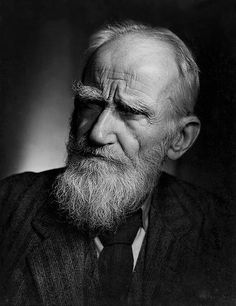 George Bernard Shaw by Yousuf Karsh