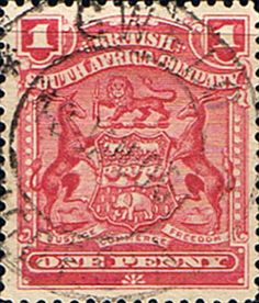 Rhodesia 1898 British South Africa Company SG 78 Fine Used Scott 60 Other Rhodesian Stamps HERE