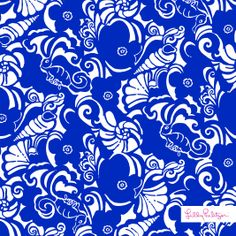 Lilly Pulitzer Spring '14 Tide Pools Print