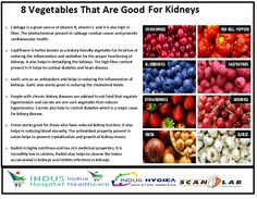 8 Vegetables That Are Good For Kidneys..