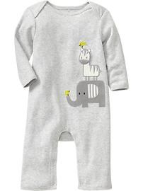 Graphic One-Pieces for Baby