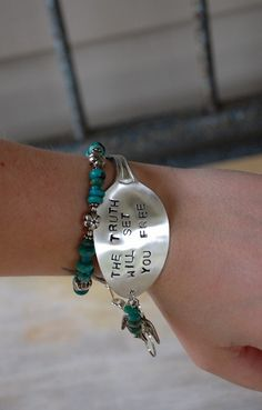 Life Should Be An Adventure: Spoon Bracelet