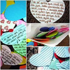 carta romântica ataque do coração