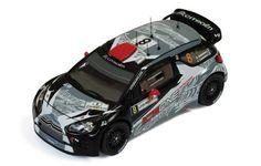 Citroen DS3 WRC #8 K. Raikkonen-K. Lindstrom Rally Jordania 2011
