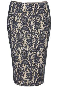 lace penci skirt