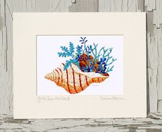 Gifts from the Sea I I Bring a little by CoastalColorsCapeCod, $30.00 Love these...you should check out her etsy shop!