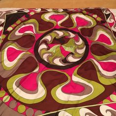 "Emilio Pucci 100% silk scarf. Gorgeous Pucci scarf. No flaws. 22"" square. Emilio Pucci Accessories Scarves & Wraps"